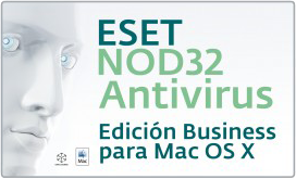 Eset Nod32 Antivirus Business  para MAC OS X
